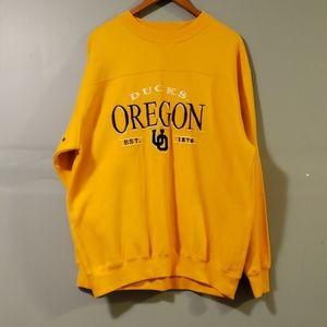 Oregon ducks swetshirt SZ L